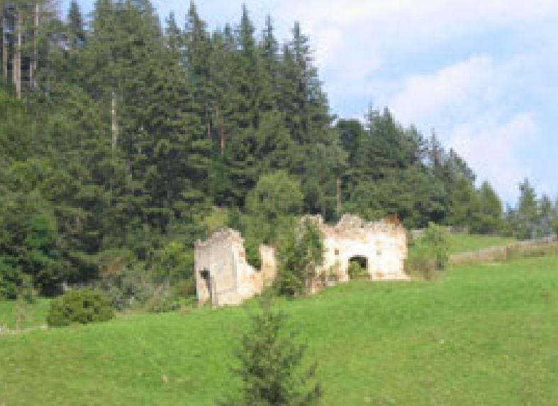 Ruinele Capelei Catolice